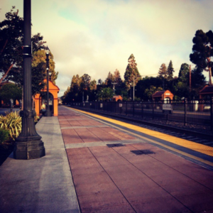 caltrain station