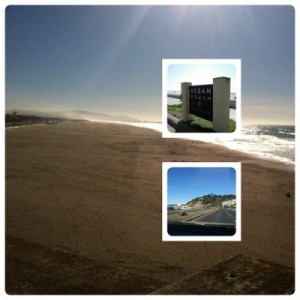 ocean side cliff house