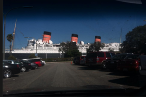 queen mary with dad