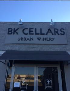 BK cellars outside
