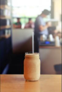 tall almond latte