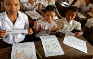 The Kouprey Express Cambodia Education Wildlife Alliance