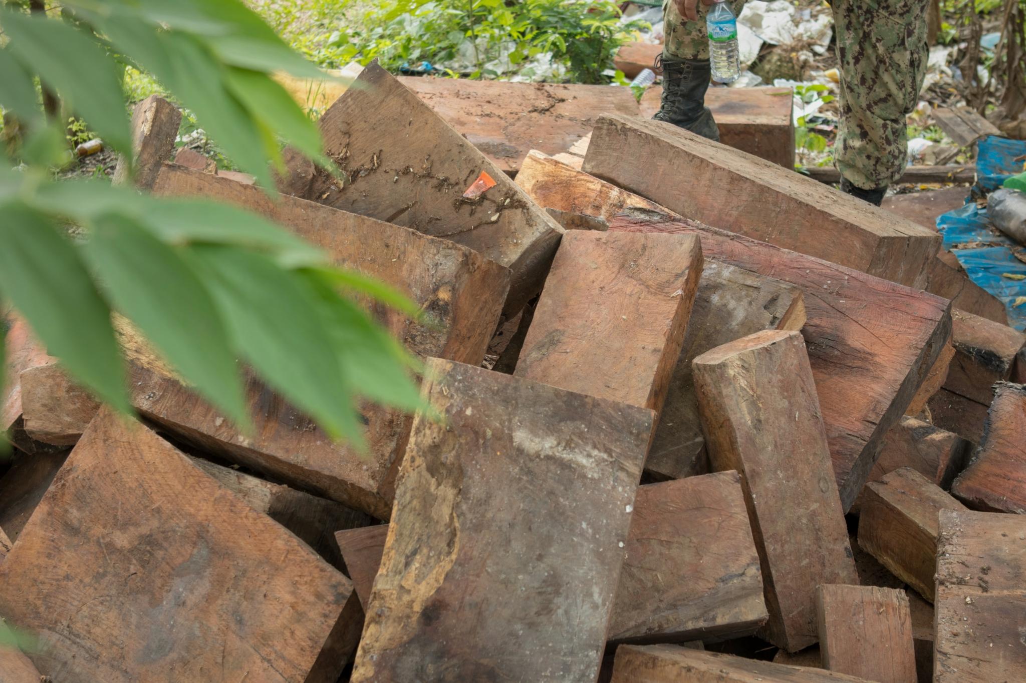 Luxury timber stock
