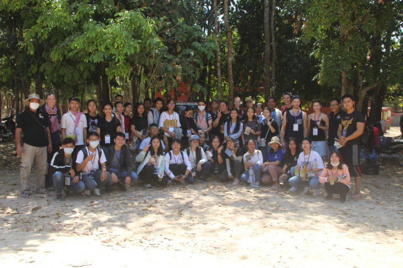 Volunteers cleanup Phnom Tamao Wildlife Rescue Center