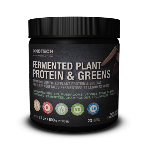 Fermented Plant Protein & Greens Chocolate
