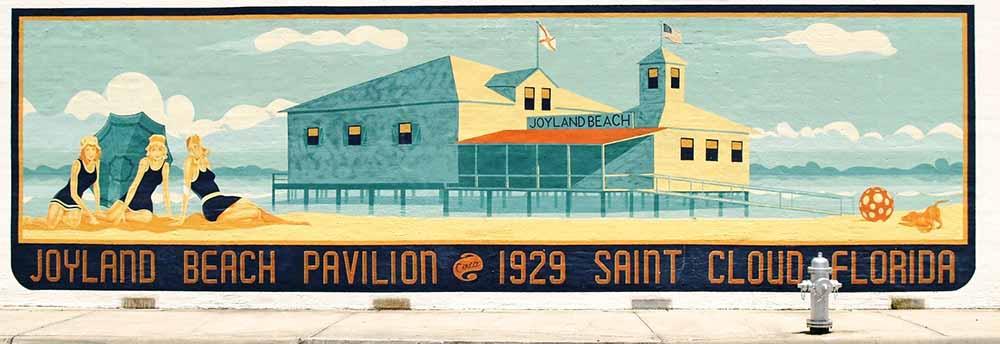Joyland Beach Mural