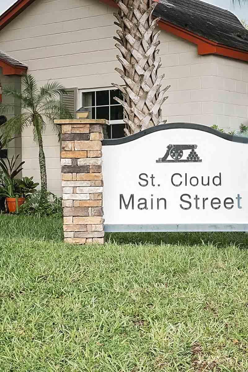 St. Cloud Main Street Sign