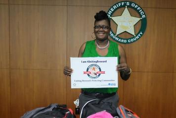 Backpacks Donated To  Broward Sheriff Office  (Children of Incarcerated Mothers) AUG 2015