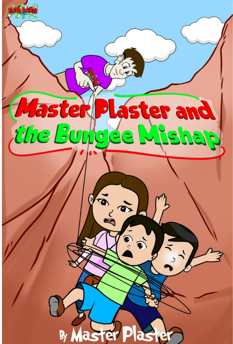 Master Plaster and the Bungee Mishap Story Book