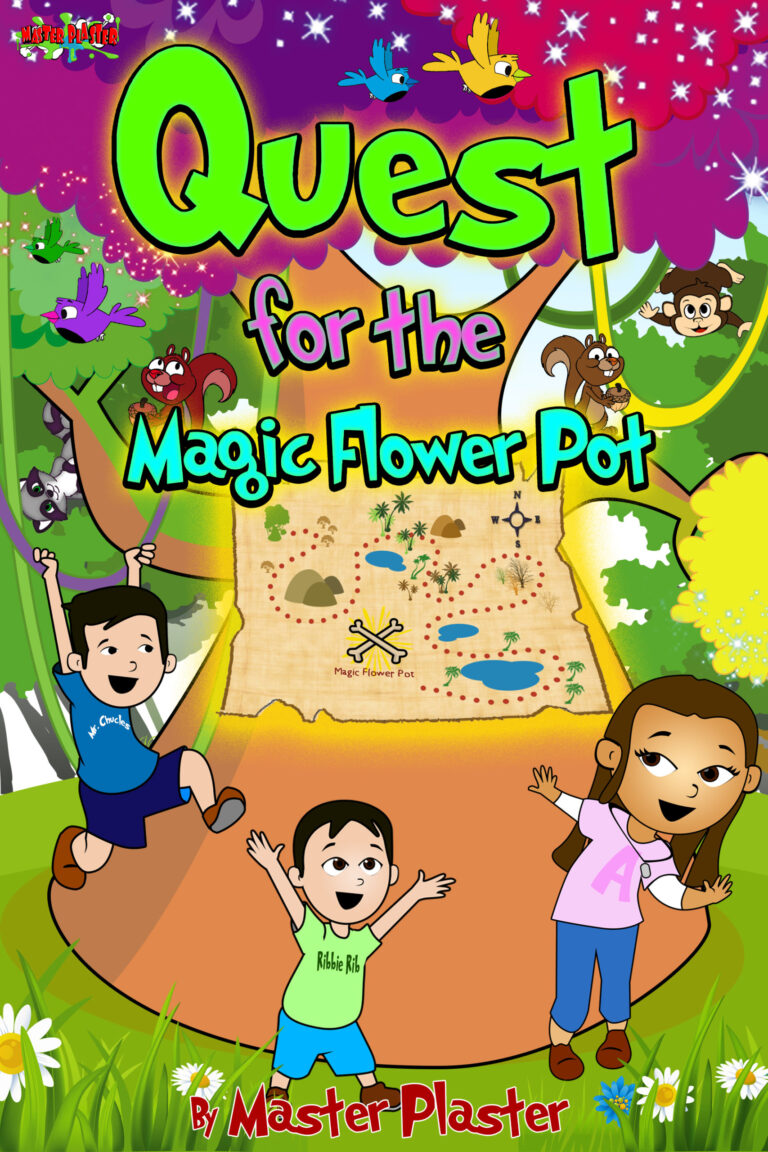 Quest For The Magic Flower Pot Story Book
