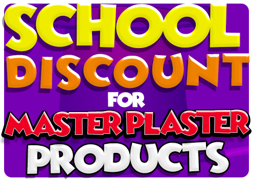 School Discount for Master Plaster Products