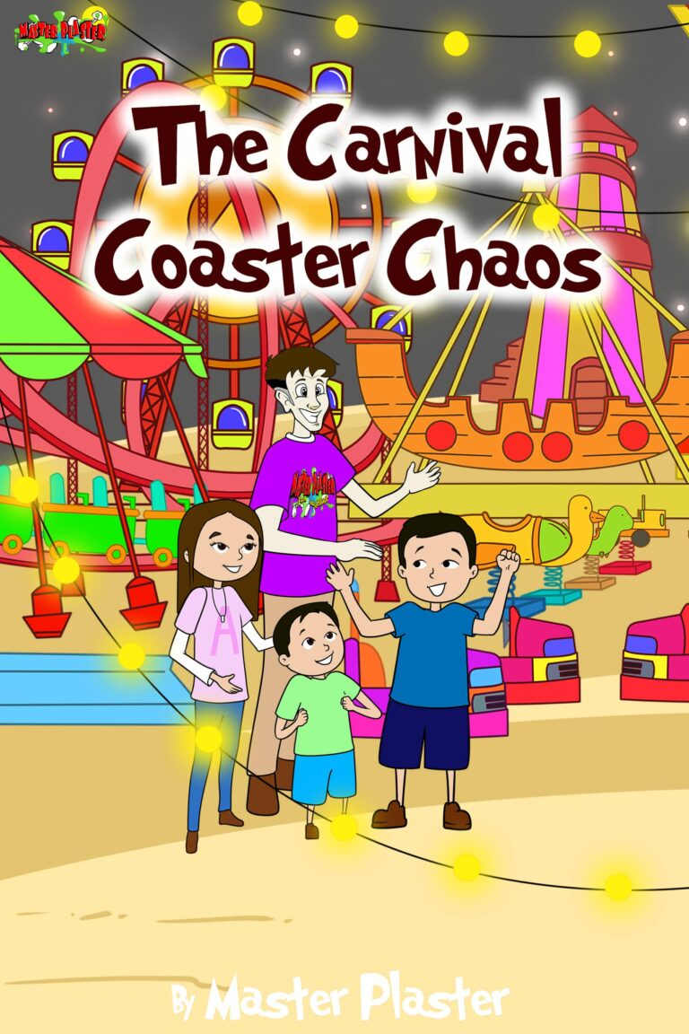 The Carnival Coaster Chaos Story Book
