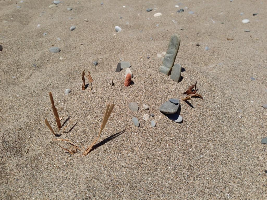 Beach graveyard