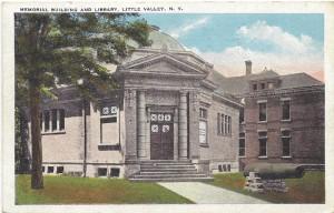 A Memorial Building Postcard.