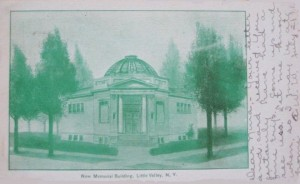 Architect Drawing Postcard 1911