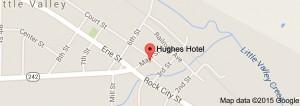 Hughes Hotel Map