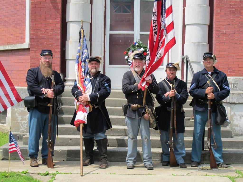 Honor Guard Re-enactors 2a