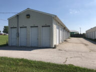 6' x 5' Storage Units on the end near the road