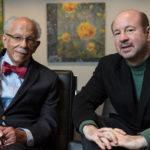 Warren Washington and Michael Mann, 2019