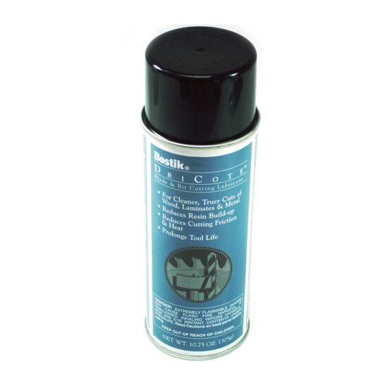 DRY LUBRICANT SPRAY, USED TO PROLONG TOOL LIFE OF BITS AND BLADES