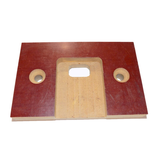 TEMPLATE, STRIKE OR DEADBOLT, FITS OLD WISE 1500
