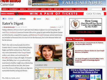 Phoenix New Times July 2012