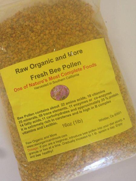 The Benefits of Bee Pollen