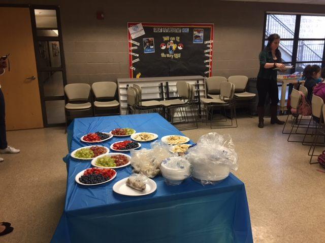 Kids Nutrition Class Spring 2017 Tempe, Arizona