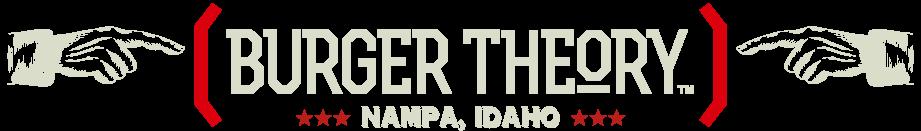 Burger Theory Nampa Idaho Logo