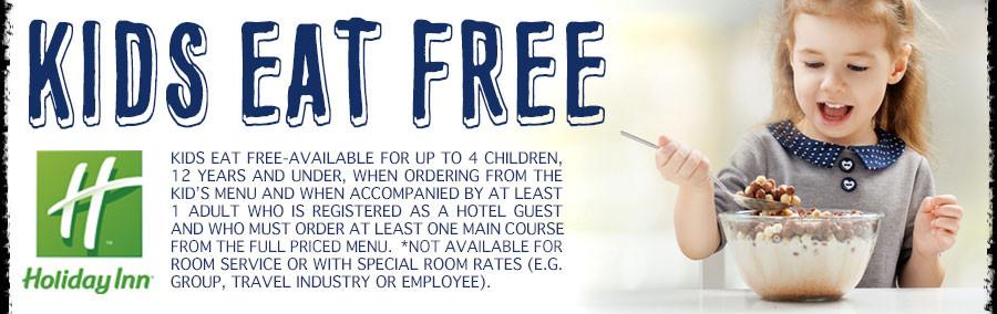 Kids Eat Free at Holiday Inn Nampa and Burger Theory Nampa