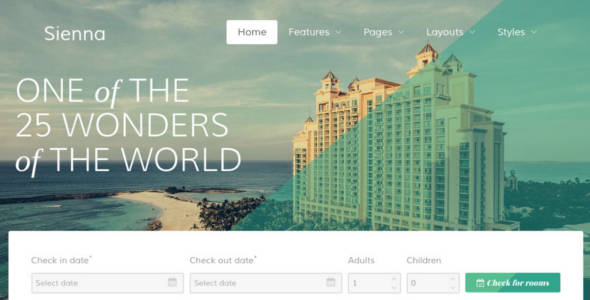 Perfect Website Joomla Template for Travel Agency