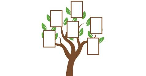 Family Tree Template and Symbols