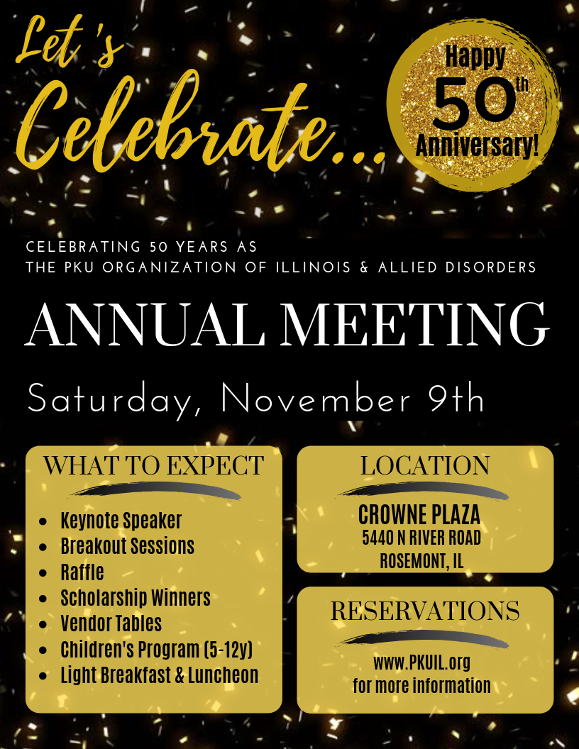 2019 Annual Meeting Flyer