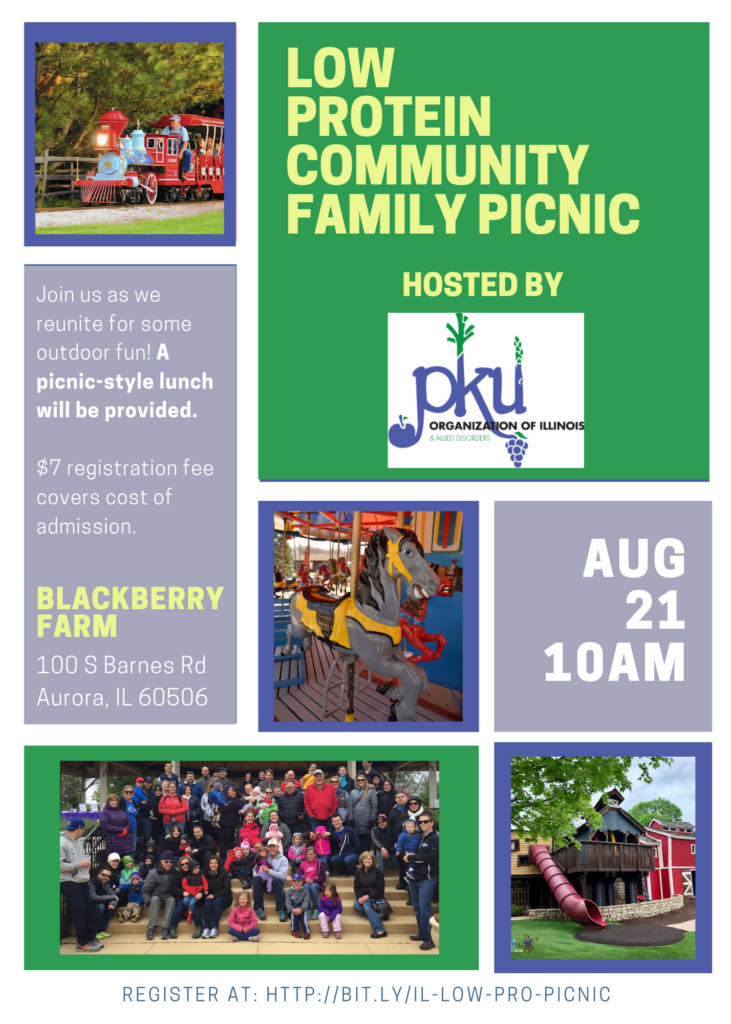 Low Protein Community Family Picnic