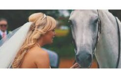 When Your Horse Turns Up At Your Wedding By Surprise - Jess & Mike Wedding Preview