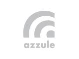 Azzule Systems Logo, grey
