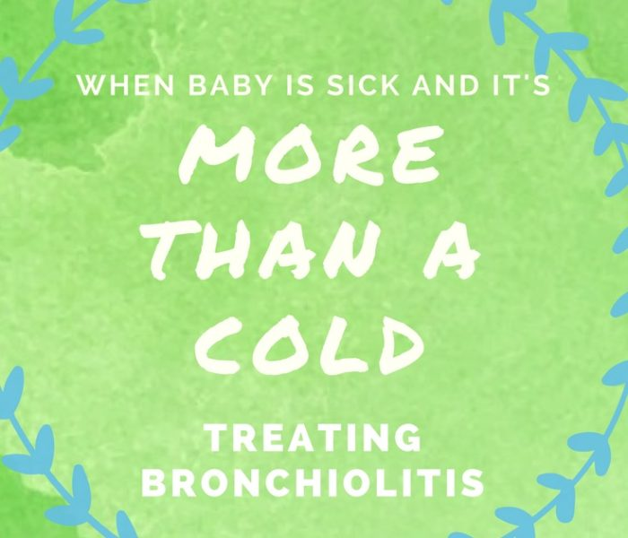 When Baby is Sick and It's More Than A Cold: Treating Bronchiolitis