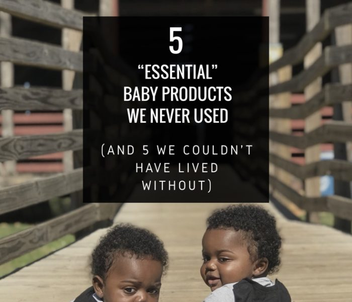 """5 """"Essential"""" Baby Products We Never Used – And 5 We Couldn't Have Lived Without"""