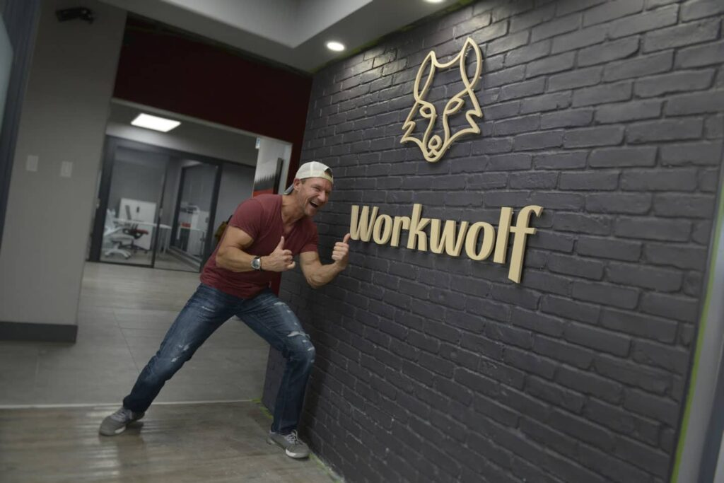Erik Simins at Workwolf