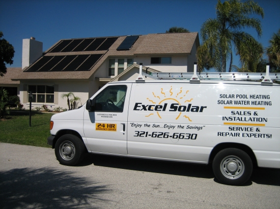 Excel solar's solar services and repairs