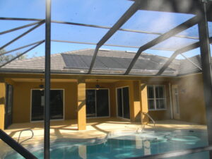 air bubbles in your pool from Solar Panels