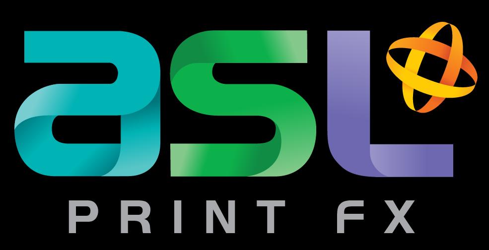 ASL Print FX Logo – RGB Colour Inverse