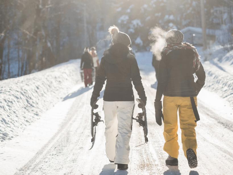 Esquiar en Candá