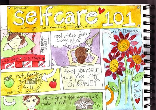 Self-care sanity. Yep, I needed it.