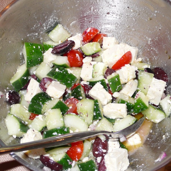 There's just something fun about feta