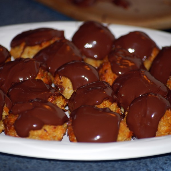 Chocolate Coconut Macaroons: Recipe 11 of 12
