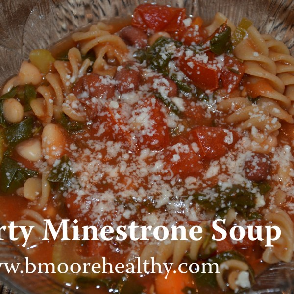 Hey mamas, you rock. So does this minestrone.