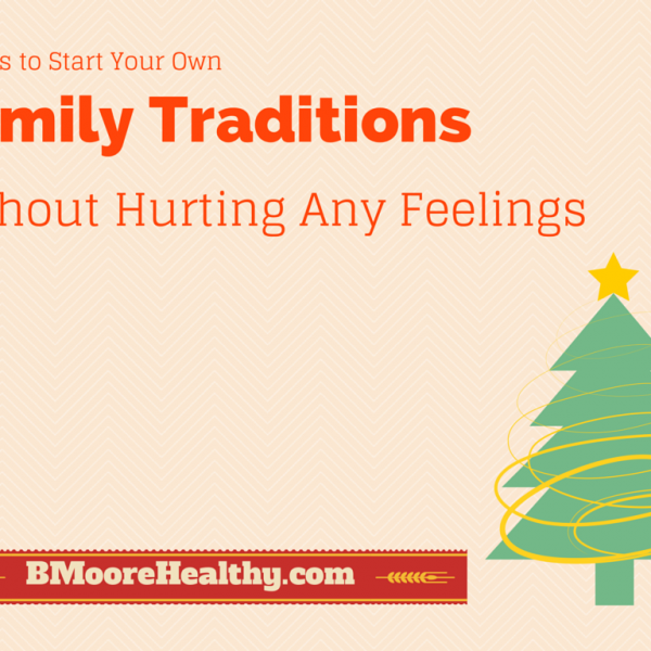 6 ways to start your own family traditions plus a holiday apron and tea towel giveaway!