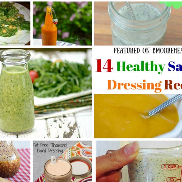 Healthy Recipes Roundup – 14 Salad Dressing Recipes