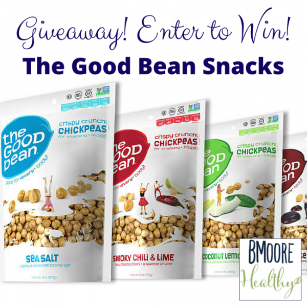 The Good Bean snacks giveaway!